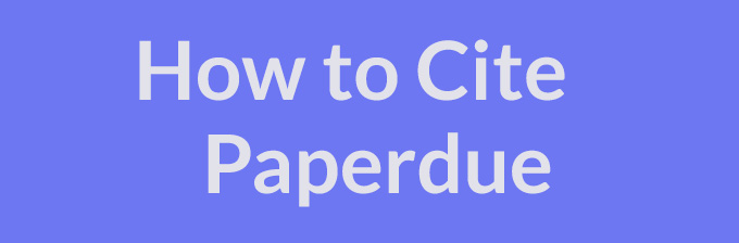 How to Cite Paper Due & Electronic Inspiration LLC.