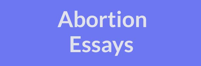 abortion favoring pro choice essay 2014-02-10  a persuasive essay about abortion favoring pro choice  pro-choice people plea that abortion is the death penalty of a child,.