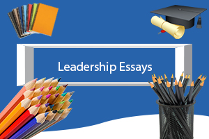Leadership essay title